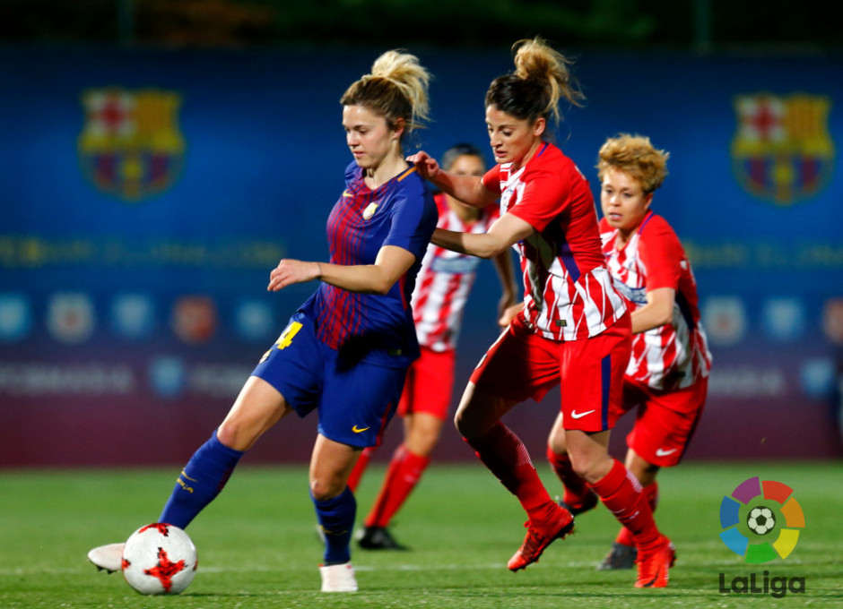 Temp. 17/18 | Jornada 22 | Barcelona - Atlético de Madrid Femenino | Esther