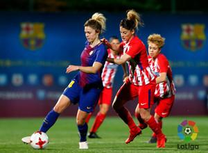Temp. 17/18 | Jornada 22 | Barcelona - Atlético de Madrid Femenino | Esther