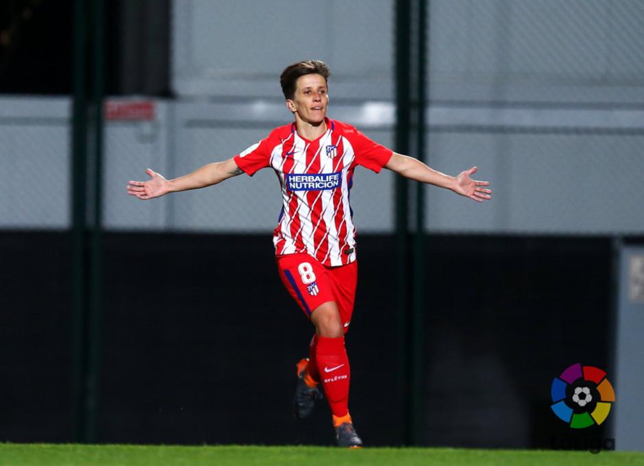 Temp. 17/18 | Jornada 22 | Barcelona - Atlético de Madrid Femenino | Sonia Bermúdez