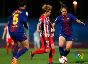 Temp. 17/18 | Jornada 22 | Barcelona - Atlético de Madrid Femenino | Amanda Sampedro