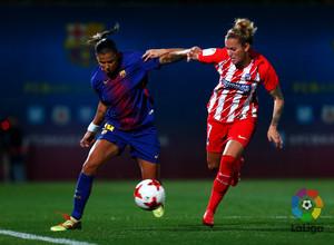 Temp. 17/18 | Jornada 22 | Barcelona - Atlético de Madrid Femenino | Ángela Sosa