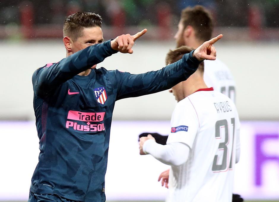 Temp. 17/18 | Vuelta de octavos | 15/03/18 | Lokomotiv - Atlético de Madrid | Torres gol de penalti