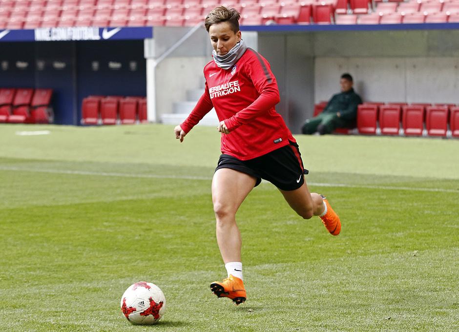 Temp. 17/18 | Entrenamiento Femenino Wanda Metropolitano | 16-03-2018 | Marta Corredera