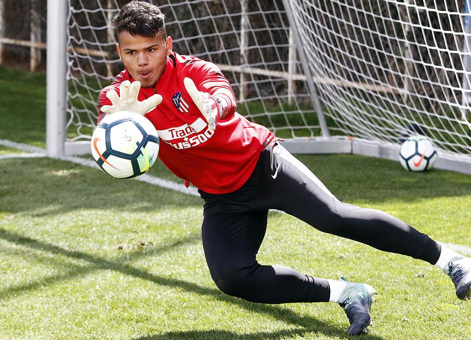 Temporada 17/18 | Entrenamiento del primer equipo | 16/03/2018 | Dos Santos