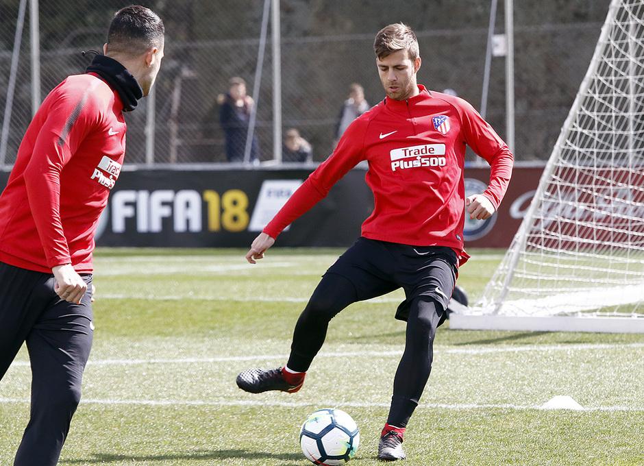 Temporada 17/18 | Entrenamiento del primer equipo | 16/03/2018 | Sergi
