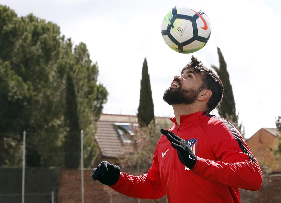 Temporada 17/18 | Entrenamiento del primer equipo | 16/03/2018 | Diego Costa