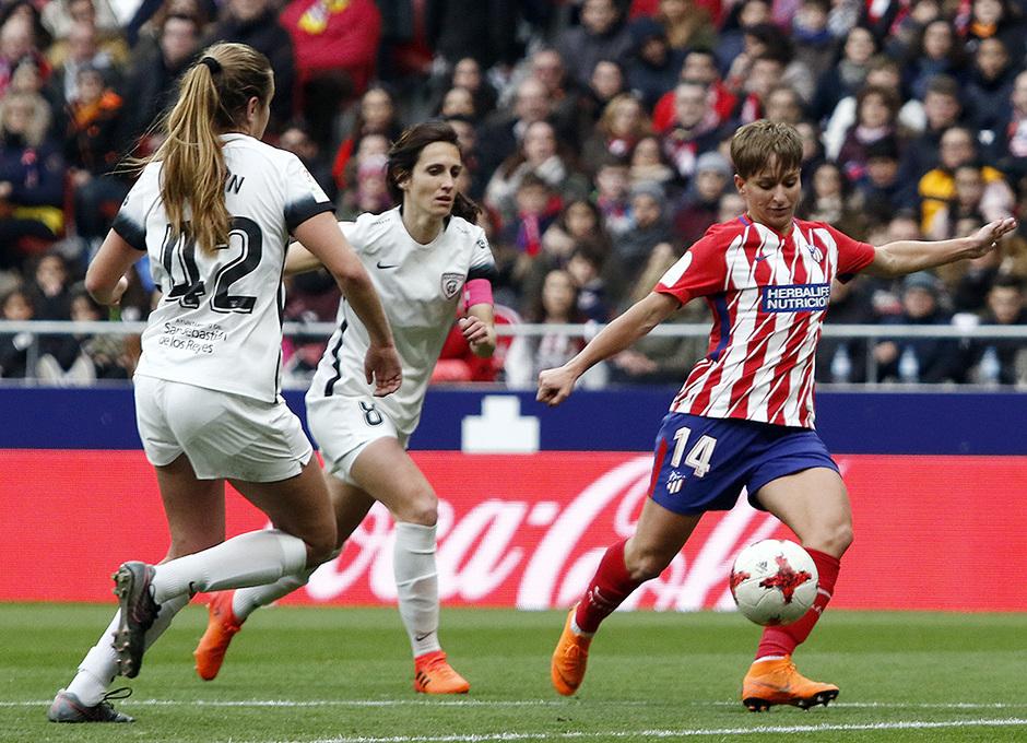Temporada 17/18 | Estreno del femenino en el Wanda Metropolitano | 17/03/2018 | Atleti - Madrid CFF | Marta Corredera