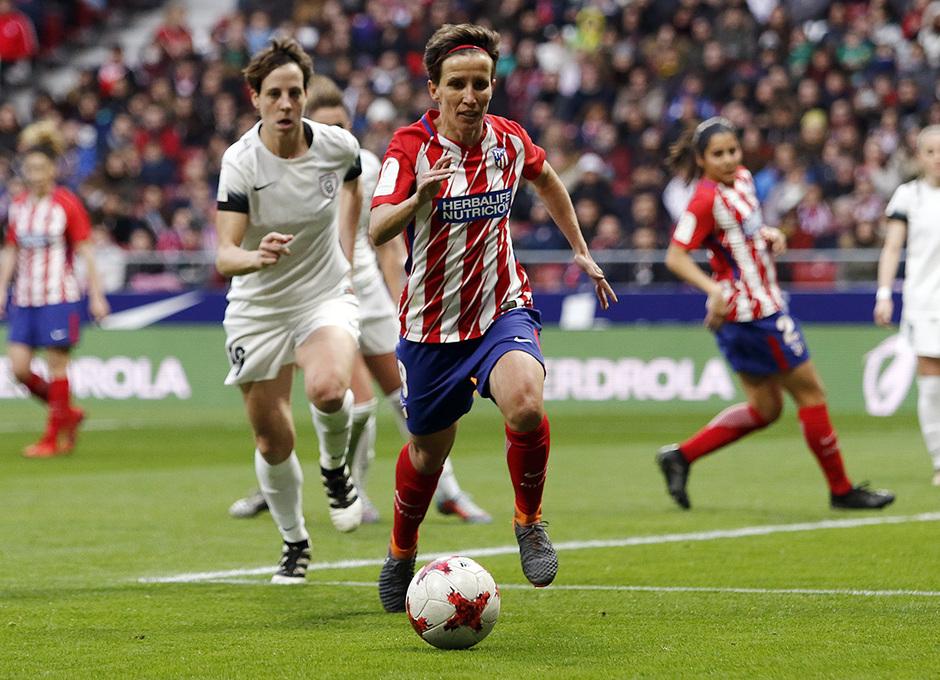 Temporada 17/18 | Estreno del femenino en el Wanda Metropolitano | 17/03/2018 | Atleti - Madrid CFF | Sonia Bermúdez