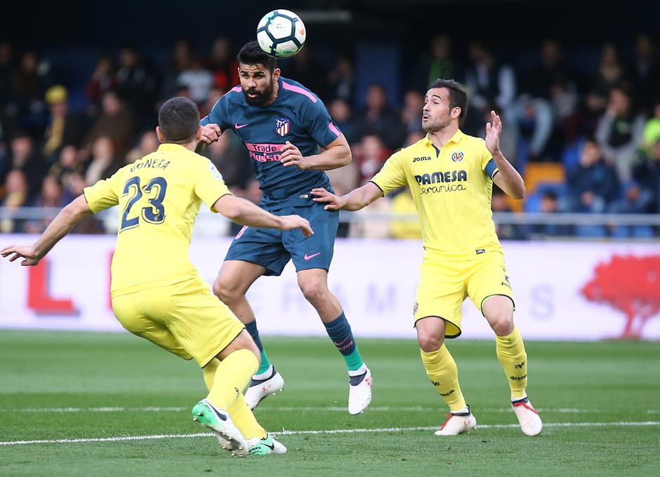 Temp. 17/18 | Jornada 29 | Villarreal - Atleti | Diego Costa