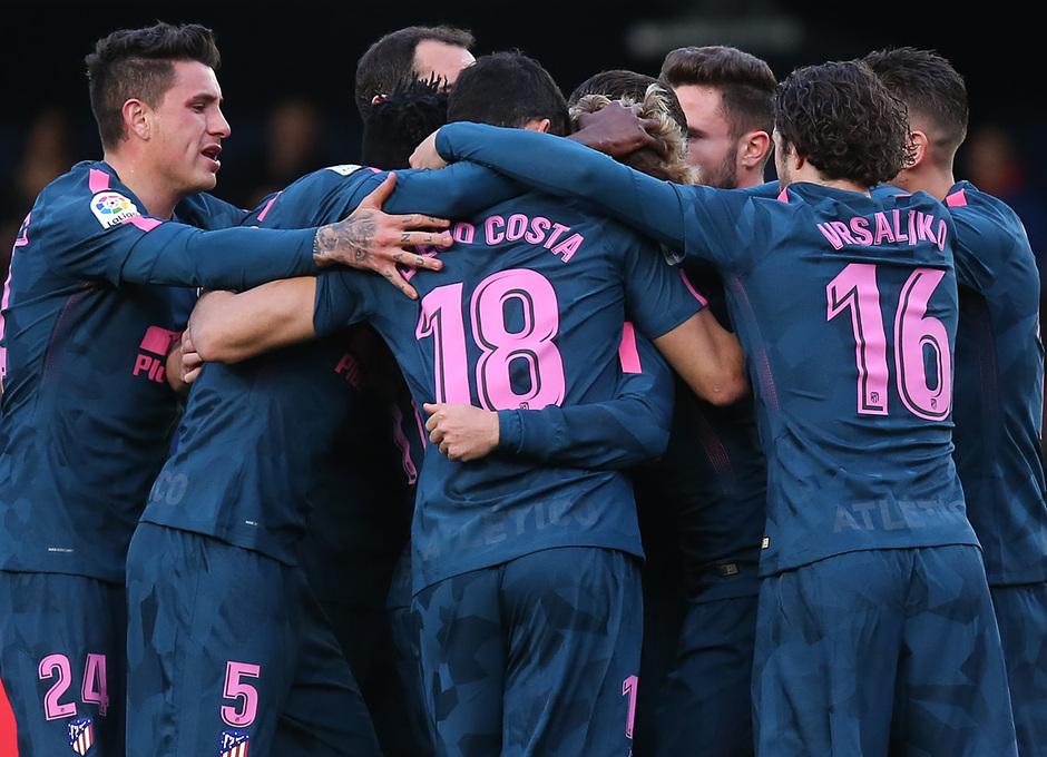 Temp. 17/18 | Jornada 29 | Villarreal - Atleti | Celebración