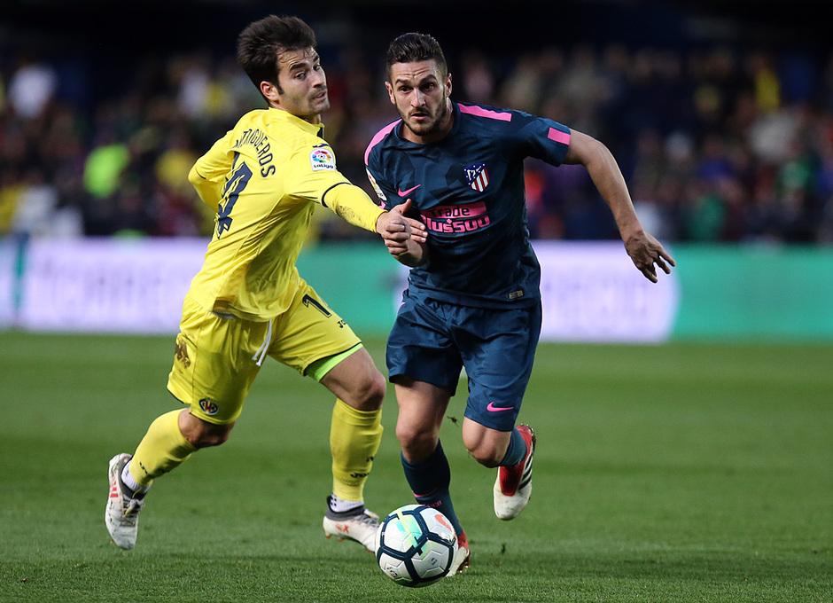 Temp. 17/18 | Jornada 29 | Villarreal - Atleti | Koke