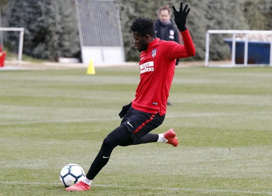 Temporada 17/18 | Entrenamiento en la Ciudad Deportiva Wanda | 20/03/2018 | THomas