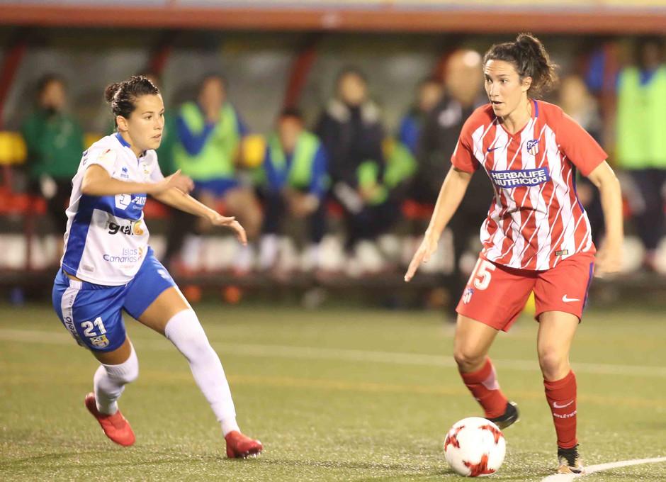 Temp. 17/18 | Atlético de Madrid Femenino | 24-03-18 | Jornada 24 | Silvia Meseguer