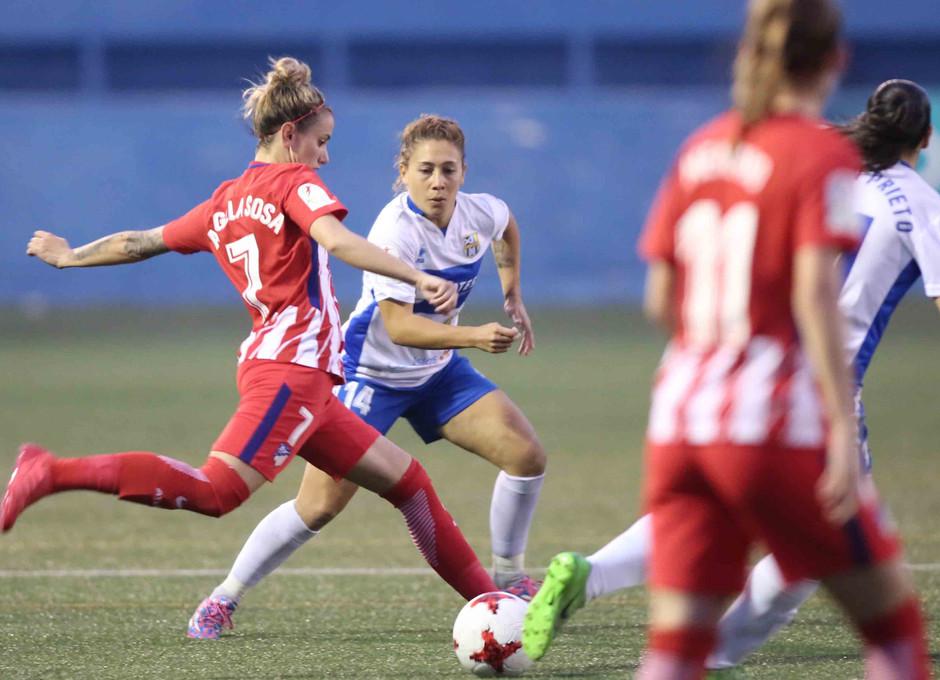 Temp. 17/18 | Atlético de Madrid Femenino | 24-03-18 | Jornada 24 | Ángela Sosa