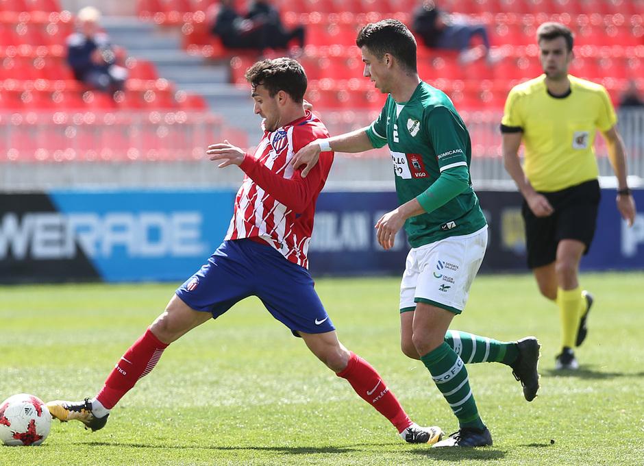 Temp. 17/18 | Atlético de Madrid B - Coruxo | Jorge Ortiz