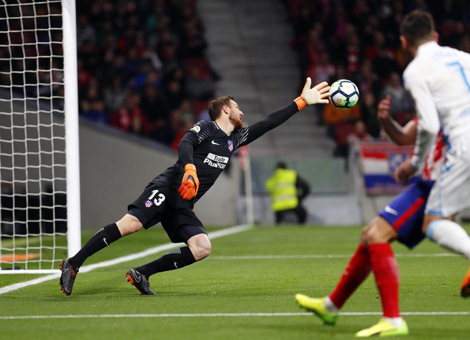 Temp. 17/18 | Atlético de Madrid - Deportivo de La Coruña | 01-04-18 | Jornada 30 | Jan Oblak
