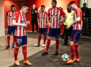 temporada 17/18. Partido Wanda Metropolitano. Atlético Deportivo. La otra mirada. Ángel