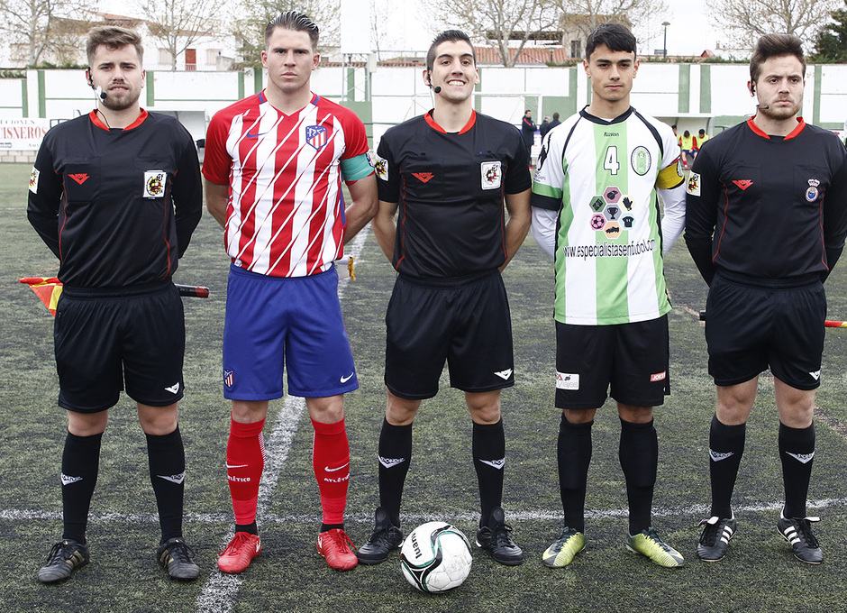 Temp. 17-18 | Almendralejo - Atlético de Madrid Juvenil A. JC capitán