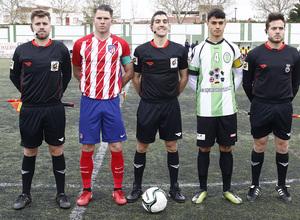 Temp. 17-18   Almendralejo - Atlético de Madrid Juvenil A. JC capitán
