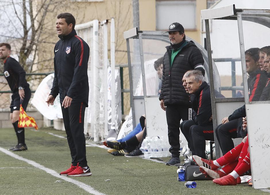 Temp. 17-18 | Almendralejo - Atlético de Madrid Juvenil A. Manolo Cano