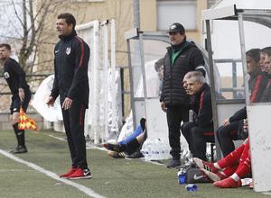 Temp. 17-18   Almendralejo - Atlético de Madrid Juvenil A. Manolo Cano