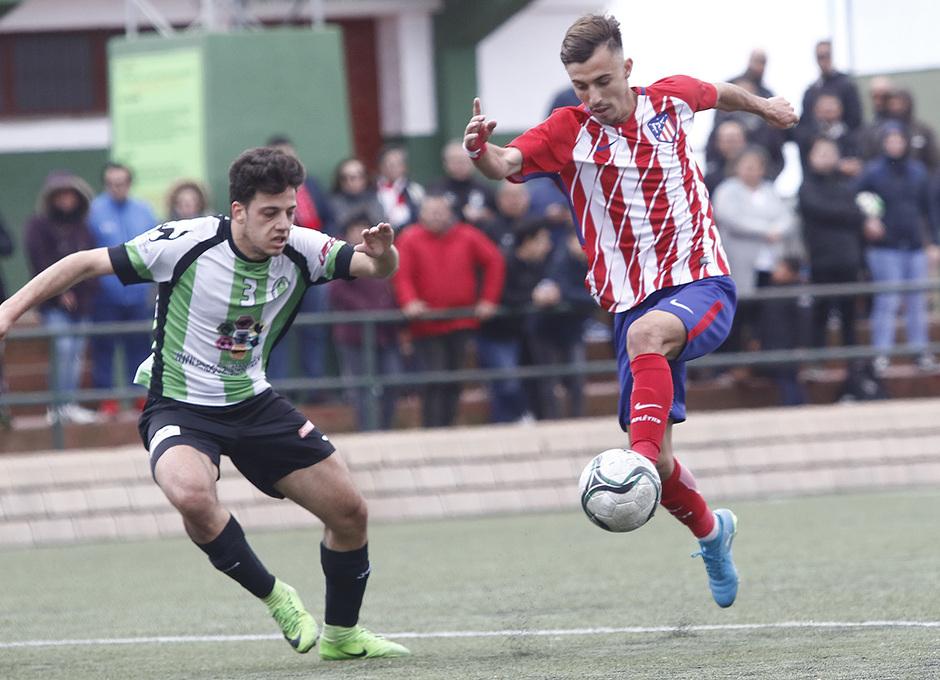 Temp. 17-18 | Almendralejo - Atlético de Madrid Juvenil A. Óscar Clemente