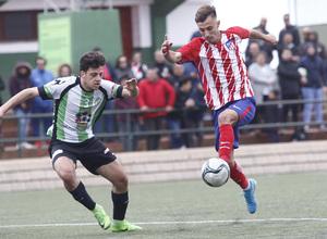 Temp. 17-18   Almendralejo - Atlético de Madrid Juvenil A. Óscar Clemente