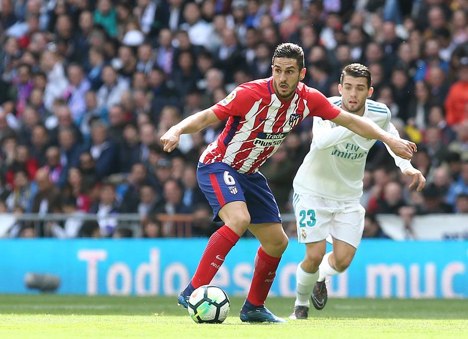Temp. 17-18 | Real Madrid - Atlético de Madrid | 08-04-2018 | Koke