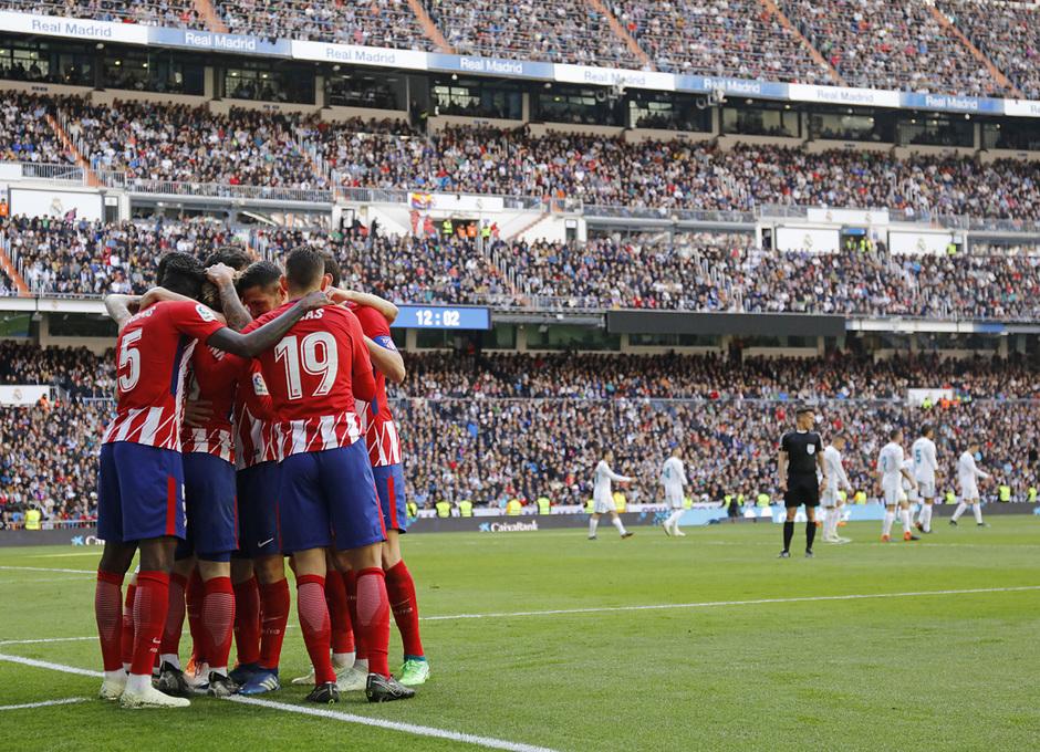 Temp. 17-18 | Real Madrid - Atlético de Madrid | 08-04-2018 | Celebración