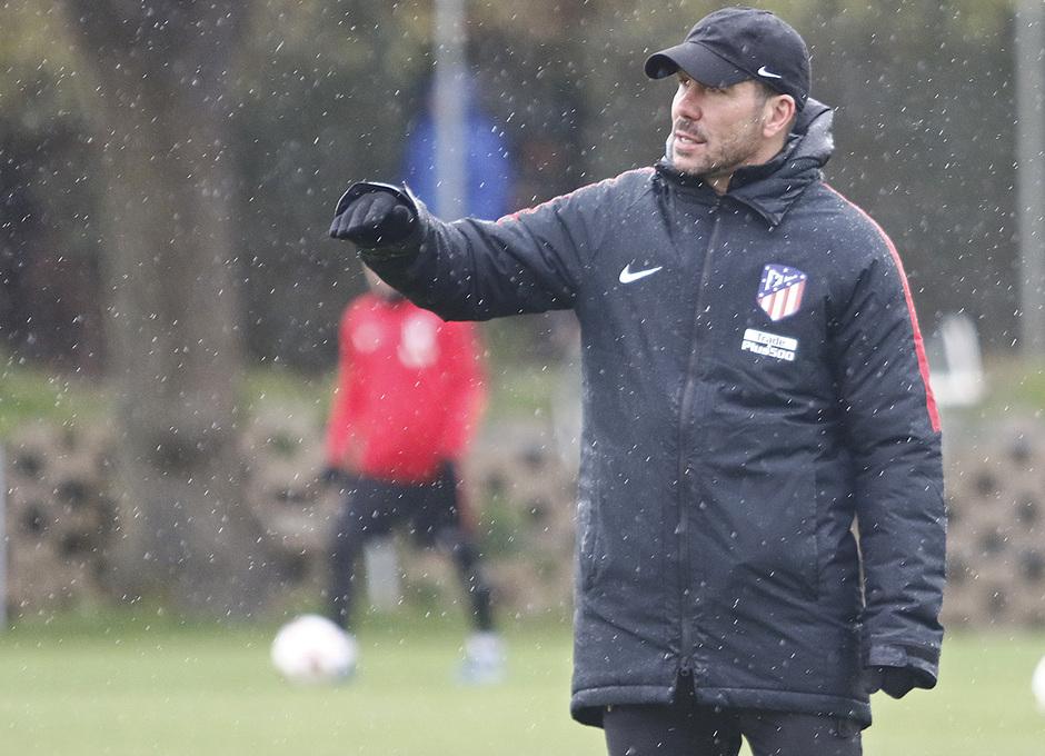 Temporada 17/18 | Entrenamiento del primer equipo | 10/04/2018 | Simeone