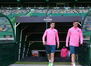 Temp. 17-18 | Europa League | Entrenamiento en el José Alvalade | Gabi y Torres