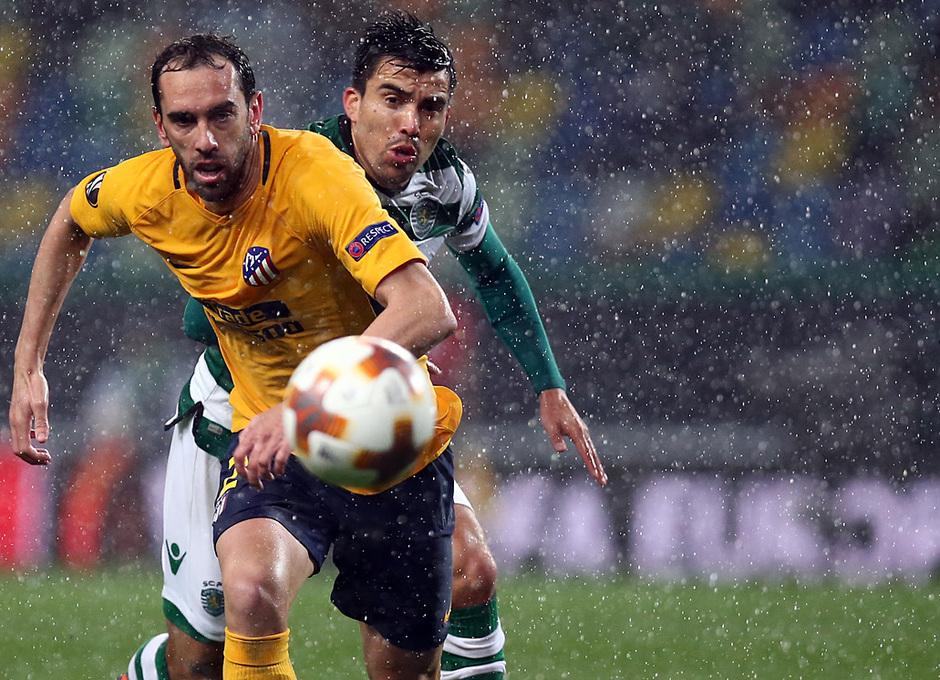 Temp. 17-18 | Vuelta de cuartos de la Europa League | 12-04-2018 | Sporting CP - Atleti | Godín