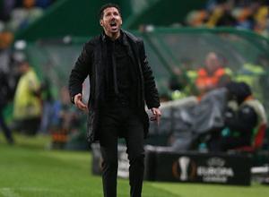 Temp. 17-18   Vuelta de cuartos de la Europa League   12-04-2018   Sporting CP - Atleti   Simeone