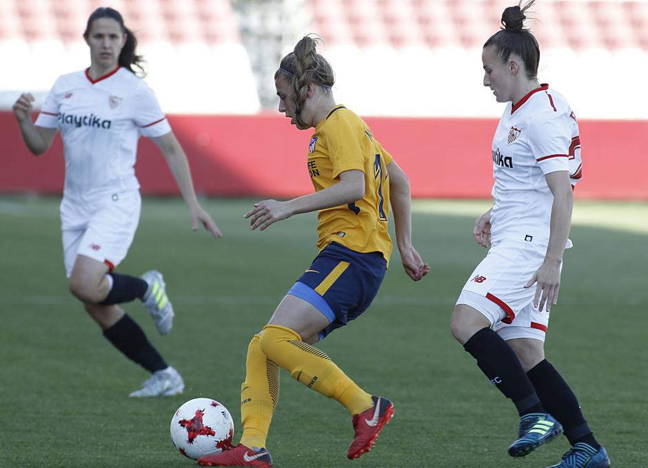Temp 17/18 | Sevilla FC - Atlético de Madrid Femenino | Jornada 26 | 14-04-18 | Carmen Menayo