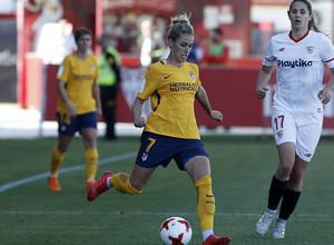 Temp 17/18 | Sevilla FC - Atlético de Madrid Femenino | Jornada 26 | 14-04-18 | Ángela Sosa