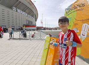 Temp. 17-18   Atlético de Madrid - Levante   Día del Niño   Philips