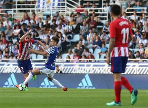 Temp 17/18 | Real Sociedad - Atlético de Madrid | Jornada 33 | 15-04-18 | Godín