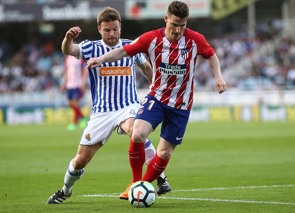 Temp 17/18 | Real Sociedad - Atlético de Madrid | Jornada 33 | 15-04-18 | Gameiro