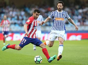 Temp 17/18 | Real Sociedad - Atlético de Madrid | Jornada 33 | 19-04-18 | Correa