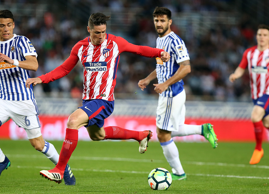 Temp 17/18 | Real Sociedad - Atlético de Madrid | Jornada 33 | 19-04-18 | Torres