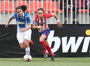 Temp 17/18 | Atlético de Madrid - Espanyol | Jornada 27 | Amanda Sampedro