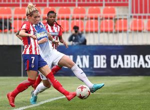 Temp 17/18 | Atlético de Madrid - Espanyol | Jornada 27 | Ángela Sosa
