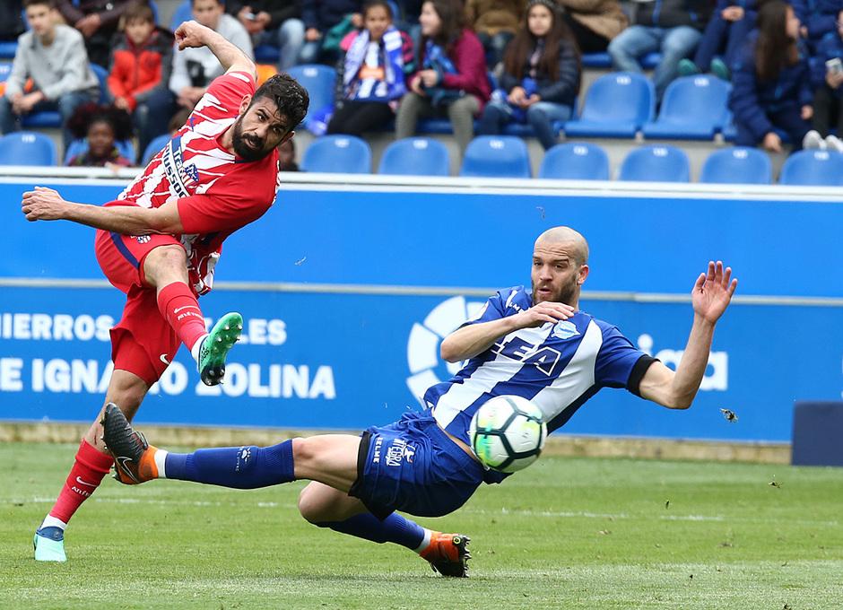 Temp 17/18 | Alavés - Atlético de Madrid | Jornada 35 | Diego Costa