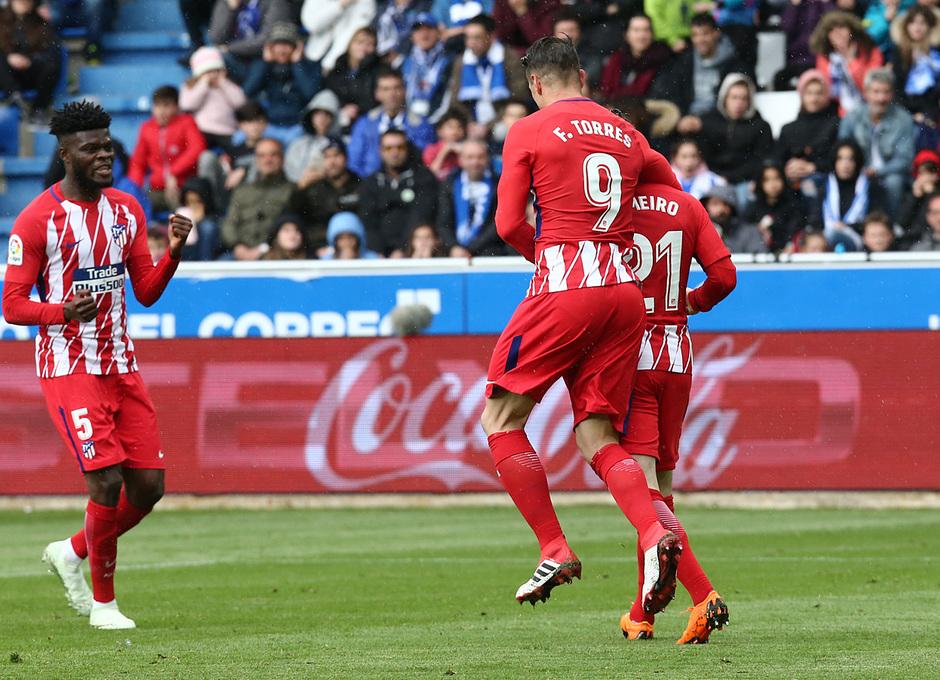 Temp 17/18 | Alavés - Atlético de Madrid | Jornada 35 | celebración
