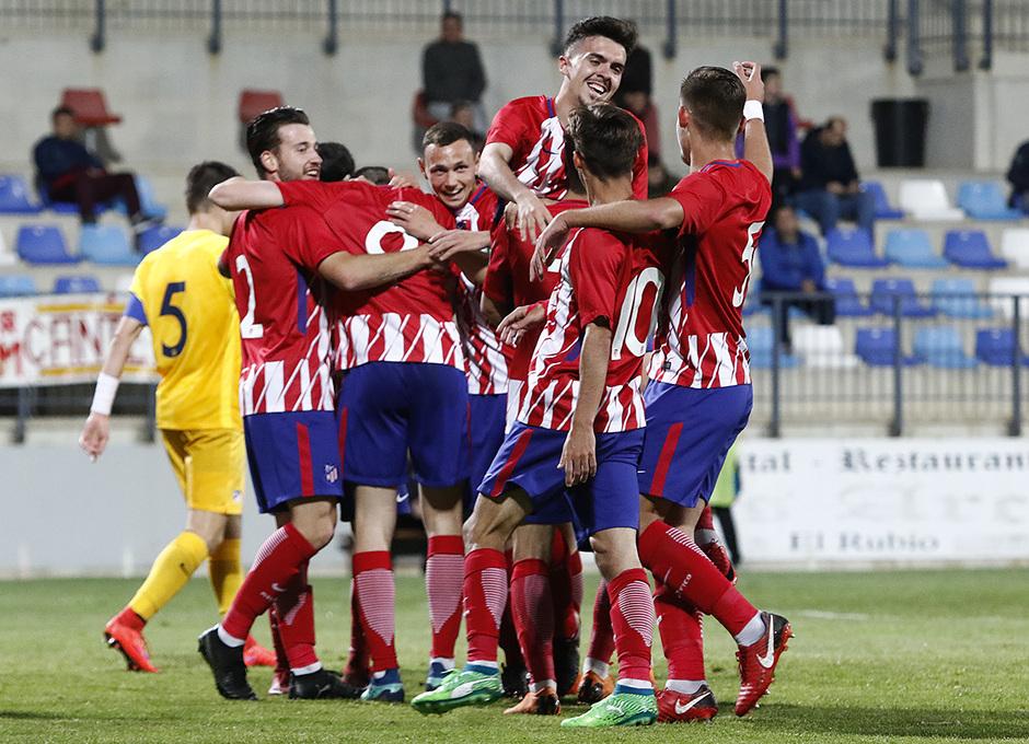 Temp. 17-18   Copa de Campeones   Juvenil A-Madrileño Juvenil A   Celebración