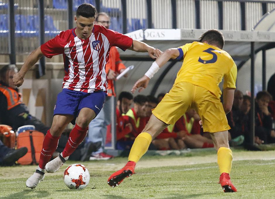 Temp. 17-18   Copa de Campeones   Juvenil A-Madrileño Juvenil A   Giovanni Navarro