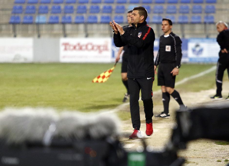 Temp. 17-18 | Copa de Campeones | Tenerife - Atlético de Madrid Juvenil A | Manolo Cano