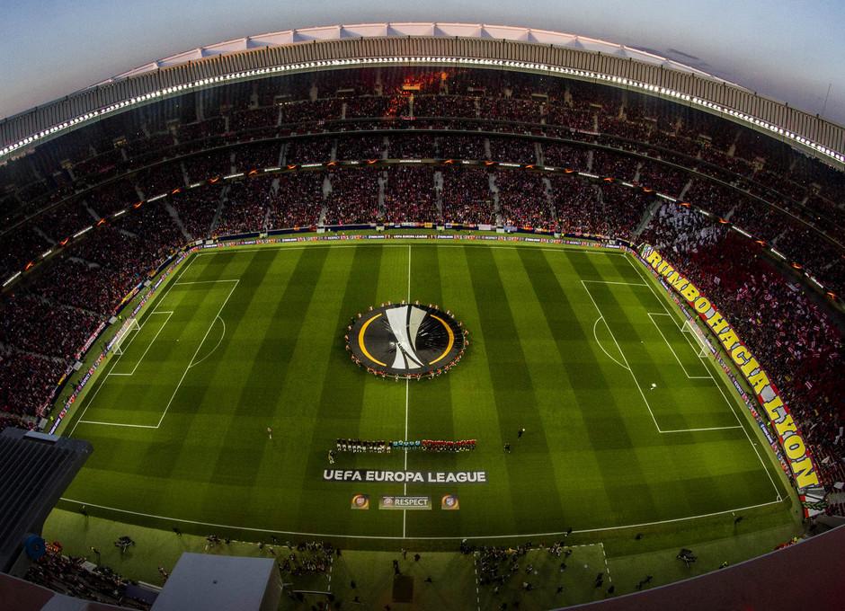 Temp 17/18 | Atlético de Madrid - Arsenal | Vuelta de semifinales Europa League | Wanda Metropolitano desde arriba