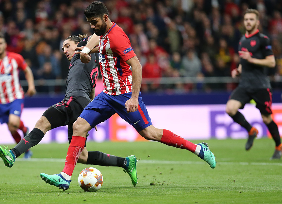 Temp 17/18 | Atlético de Madrid - Arsenal | Vuelta de semifinales Europa League | Diego Costa