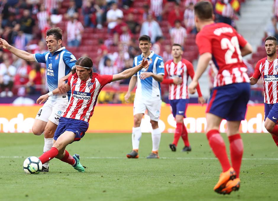 Temp. 17-18 | Atlético de Madrid - Espanyol | Jornada 36 | Filipe Luis
